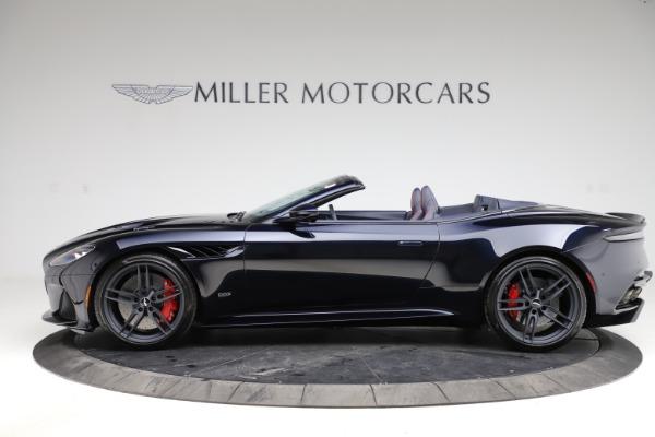 New 2021 Aston Martin DBS Superleggera Volante Convertible for sale $402,286 at Maserati of Westport in Westport CT 06880 2