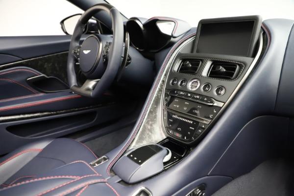New 2021 Aston Martin DBS Superleggera Volante Convertible for sale $402,286 at Maserati of Westport in Westport CT 06880 24