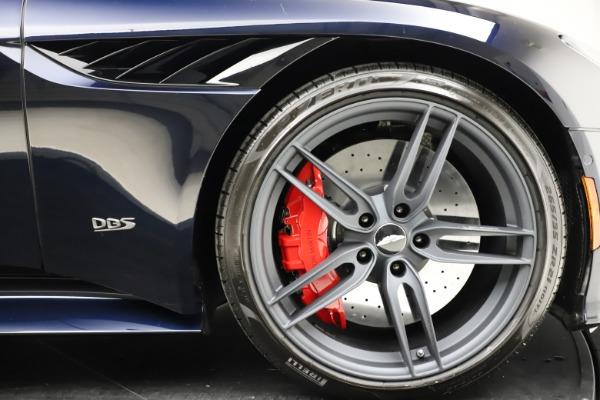 New 2021 Aston Martin DBS Superleggera Volante Convertible for sale $402,286 at Maserati of Westport in Westport CT 06880 27