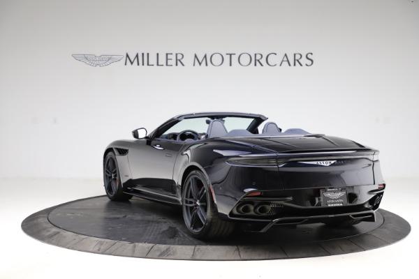 New 2021 Aston Martin DBS Superleggera Volante Convertible for sale $402,286 at Maserati of Westport in Westport CT 06880 4