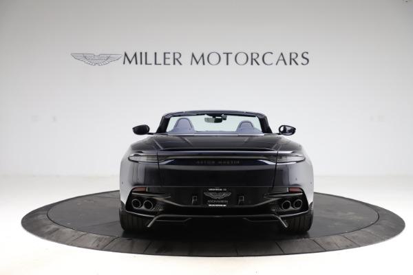 New 2021 Aston Martin DBS Superleggera Volante Convertible for sale $402,286 at Maserati of Westport in Westport CT 06880 5