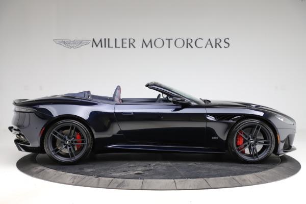 New 2021 Aston Martin DBS Superleggera Volante Convertible for sale $402,286 at Maserati of Westport in Westport CT 06880 8