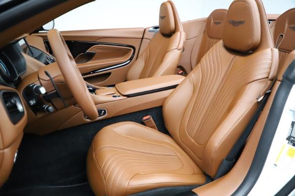 New 2021 Aston Martin DB11 Volante for sale $269,486 at Maserati of Westport in Westport CT 06880 21