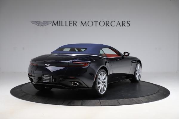 New 2021 Aston Martin DB11 Volante Convertible for sale $261,486 at Maserati of Westport in Westport CT 06880 28
