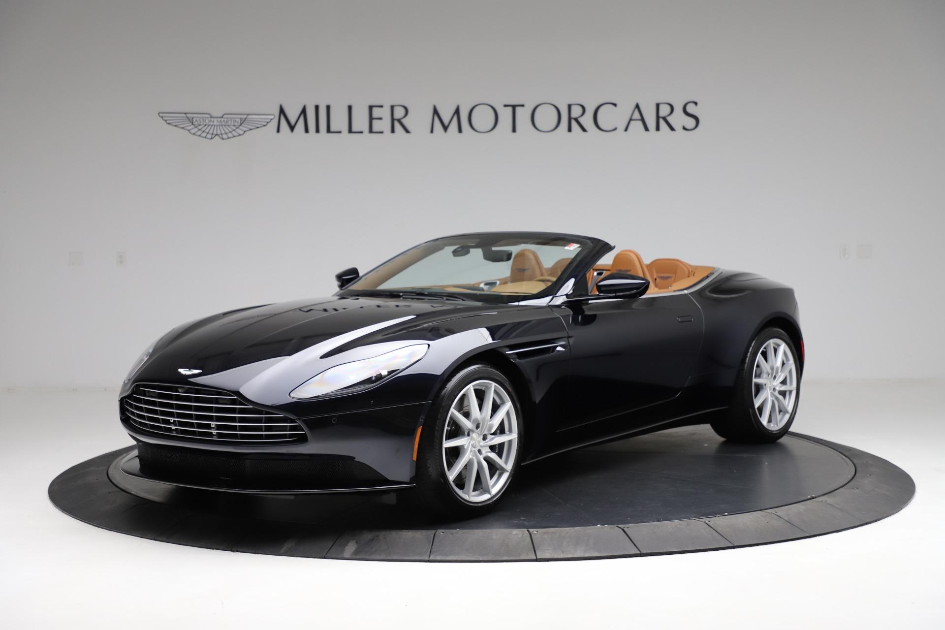 New 2021 Aston Martin DB11 Volante Convertible for sale $265,186 at Maserati of Westport in Westport CT 06880 1