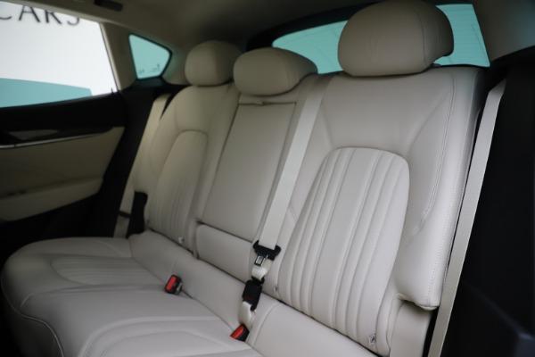 New 2021 Maserati Levante S Q4 GranLusso for sale $106,235 at Maserati of Westport in Westport CT 06880 20