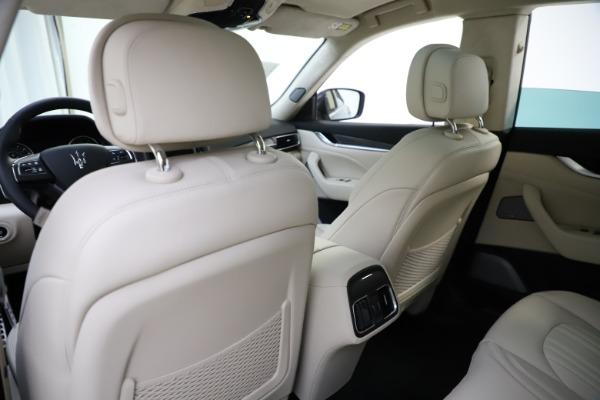 New 2021 Maserati Levante S Q4 GranLusso for sale $106,235 at Maserati of Westport in Westport CT 06880 22