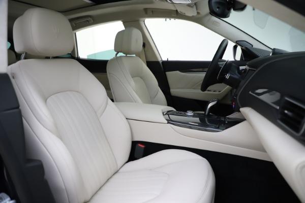 New 2021 Maserati Levante S Q4 GranLusso for sale $106,235 at Maserati of Westport in Westport CT 06880 23