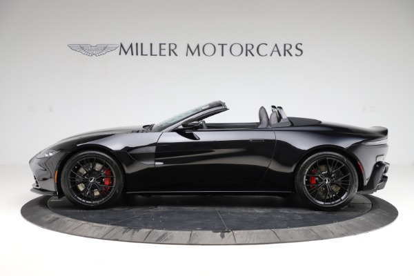 New 2021 Aston Martin Vantage Roadster for sale Sold at Maserati of Westport in Westport CT 06880 2