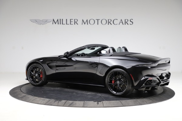 New 2021 Aston Martin Vantage Roadster for sale Sold at Maserati of Westport in Westport CT 06880 3