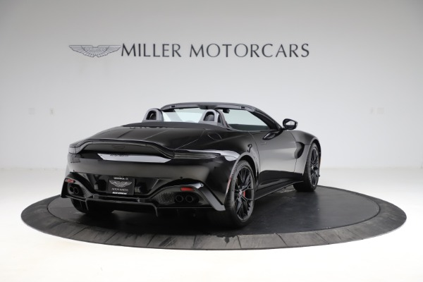 New 2021 Aston Martin Vantage Roadster for sale Sold at Maserati of Westport in Westport CT 06880 6
