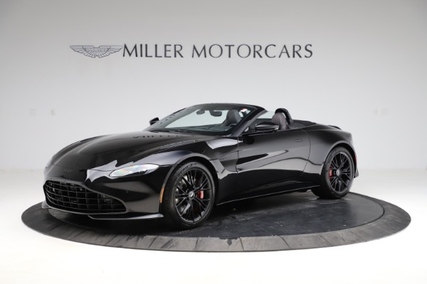 New 2021 Aston Martin Vantage Roadster for sale Sold at Maserati of Westport in Westport CT 06880 1