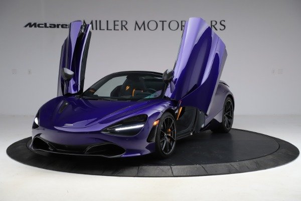 Used 2020 McLaren 720S Spider Performance for sale $324,990 at Maserati of Westport in Westport CT 06880 19