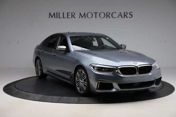 Used 2018 BMW 5 Series M550i xDrive for sale $49,900 at Maserati of Westport in Westport CT 06880 11