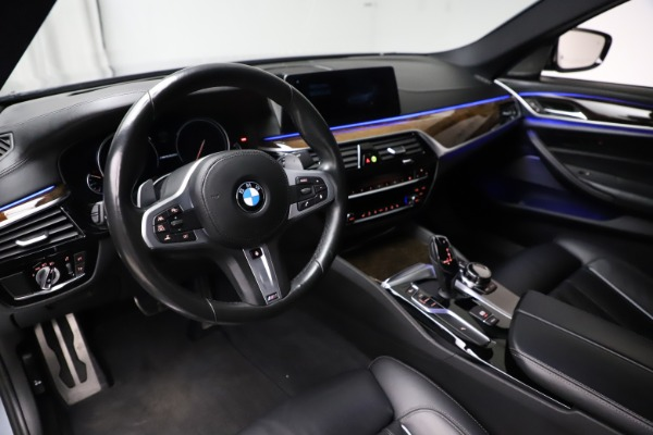 Used 2018 BMW 5 Series M550i xDrive for sale $49,900 at Maserati of Westport in Westport CT 06880 13