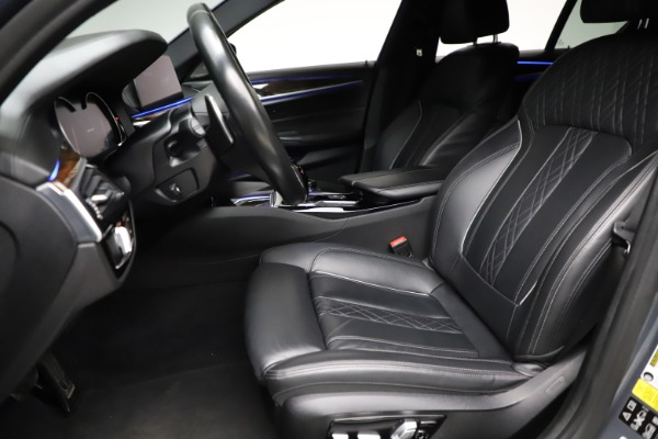Used 2018 BMW 5 Series M550i xDrive for sale $49,900 at Maserati of Westport in Westport CT 06880 14