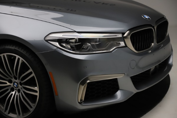 Used 2018 BMW 5 Series M550i xDrive for sale $49,900 at Maserati of Westport in Westport CT 06880 28