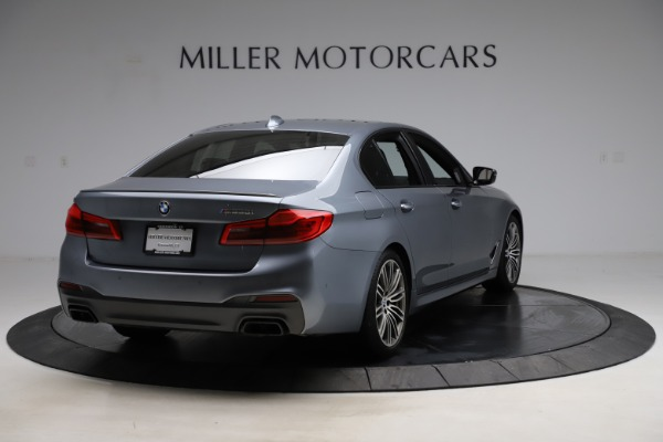 Used 2018 BMW 5 Series M550i xDrive for sale $49,900 at Maserati of Westport in Westport CT 06880 7