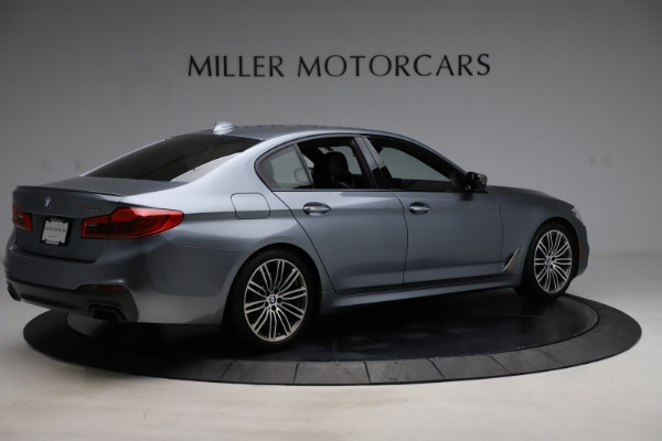 Used 2018 BMW 5 Series M550i xDrive for sale $49,900 at Maserati of Westport in Westport CT 06880 8