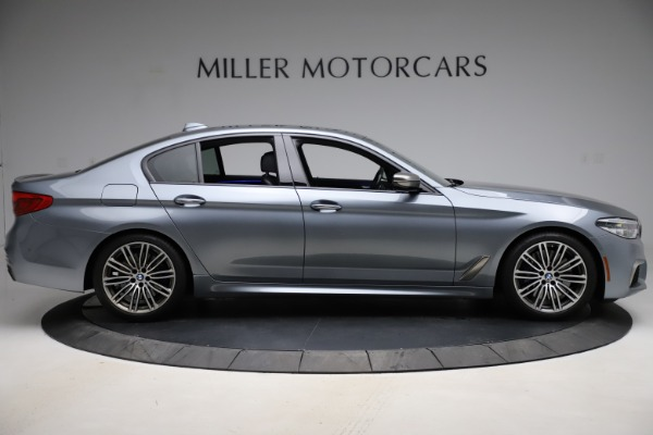 Used 2018 BMW 5 Series M550i xDrive for sale $49,900 at Maserati of Westport in Westport CT 06880 9