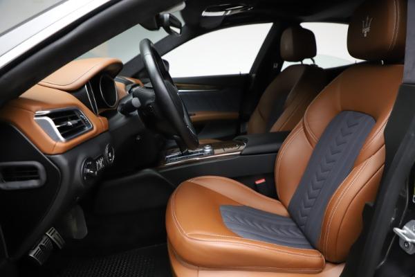 Used 2018 Maserati Ghibli SQ4 GranLusso for sale Call for price at Maserati of Westport in Westport CT 06880 14