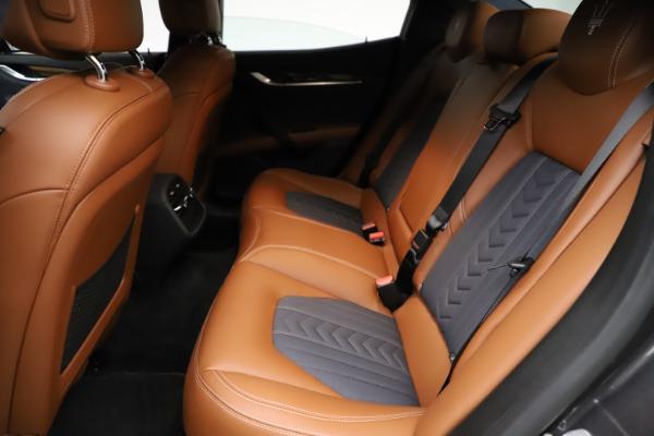 Used 2018 Maserati Ghibli SQ4 GranLusso for sale Call for price at Maserati of Westport in Westport CT 06880 18