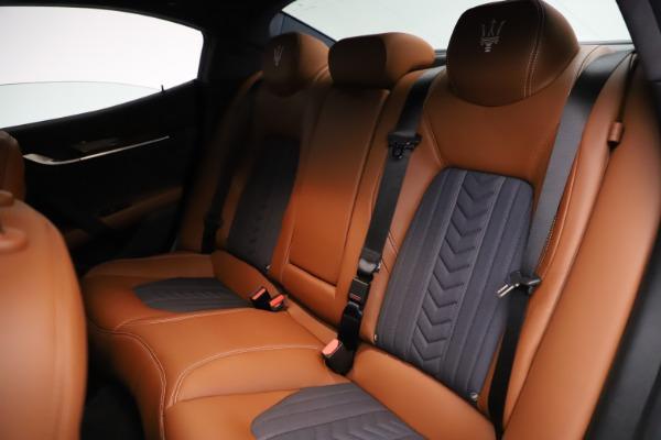 Used 2018 Maserati Ghibli SQ4 GranLusso for sale Call for price at Maserati of Westport in Westport CT 06880 19