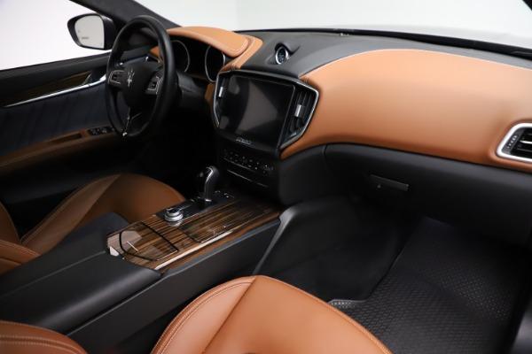 Used 2018 Maserati Ghibli SQ4 GranLusso for sale Call for price at Maserati of Westport in Westport CT 06880 21