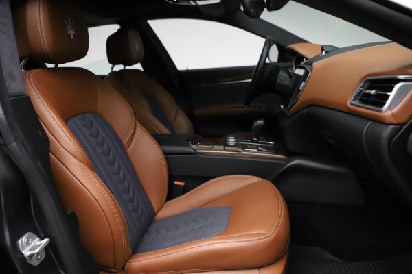 Used 2018 Maserati Ghibli SQ4 GranLusso for sale Call for price at Maserati of Westport in Westport CT 06880 22