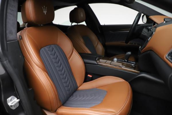 Used 2018 Maserati Ghibli SQ4 GranLusso for sale Call for price at Maserati of Westport in Westport CT 06880 23