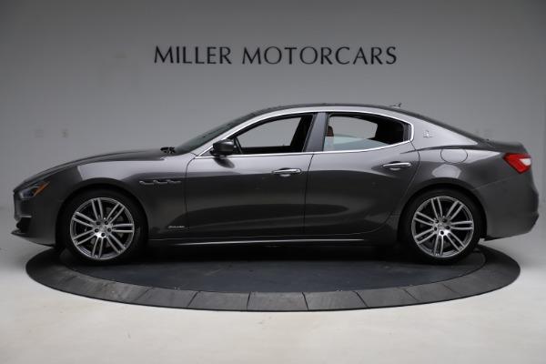 Used 2018 Maserati Ghibli SQ4 GranLusso for sale Call for price at Maserati of Westport in Westport CT 06880 3