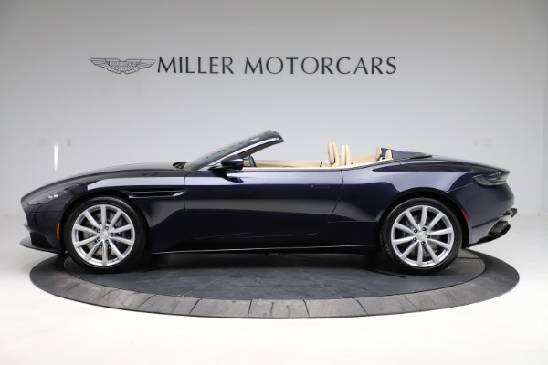 New 2021 Aston Martin DB11 Volante Convertible for sale $274,916 at Maserati of Westport in Westport CT 06880 2