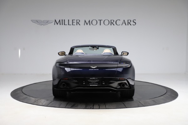 New 2021 Aston Martin DB11 Volante Convertible for sale $274,916 at Maserati of Westport in Westport CT 06880 5