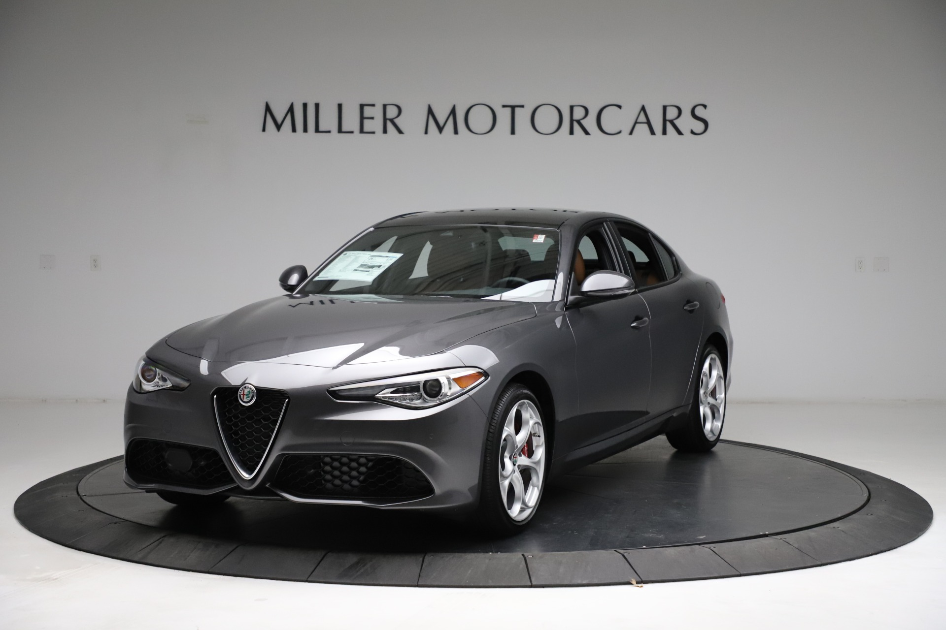 New 2021 Alfa Romeo Giulia Ti Sport Q4 for sale $52,100 at Maserati of Westport in Westport CT 06880 1
