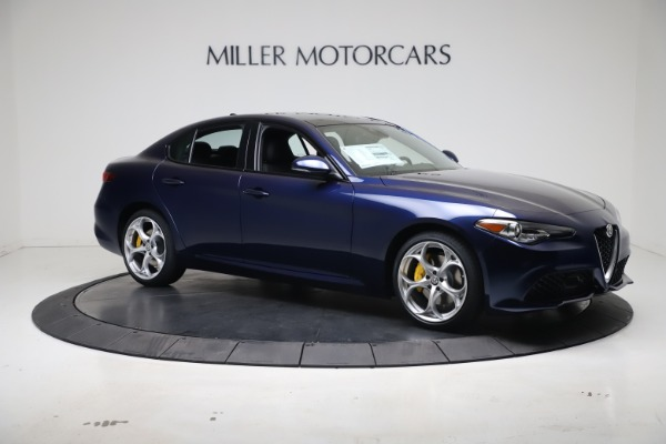 New 2021 Alfa Romeo Giulia Ti Sport Q4 for sale $52,100 at Maserati of Westport in Westport CT 06880 10
