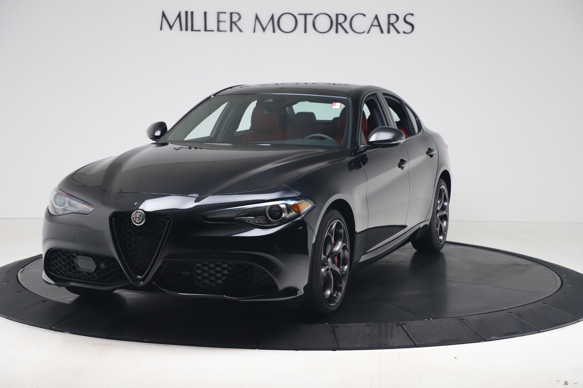 New 2021 Alfa Romeo Giulia Ti Sport Q4 for sale $56,300 at Maserati of Westport in Westport CT 06880 1