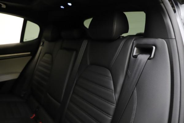 New 2021 Alfa Romeo Stelvio Ti Sport Q4 for sale $54,950 at Maserati of Westport in Westport CT 06880 18