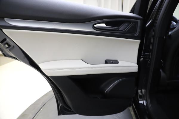 New 2021 Alfa Romeo Stelvio Ti Sport Q4 for sale $54,950 at Maserati of Westport in Westport CT 06880 21