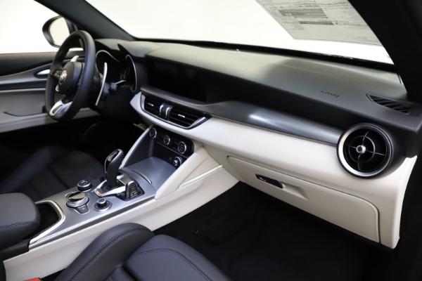 New 2021 Alfa Romeo Stelvio Ti Sport Q4 for sale $54,950 at Maserati of Westport in Westport CT 06880 22