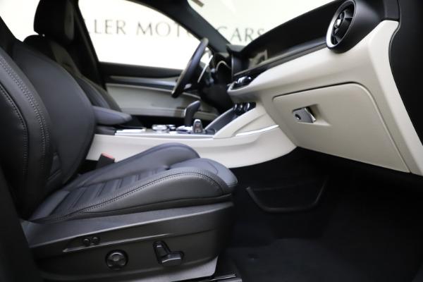 New 2021 Alfa Romeo Stelvio Ti Sport Q4 for sale $54,950 at Maserati of Westport in Westport CT 06880 23