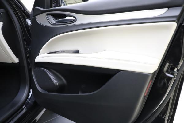 New 2021 Alfa Romeo Stelvio Ti Sport Q4 for sale $54,950 at Maserati of Westport in Westport CT 06880 25