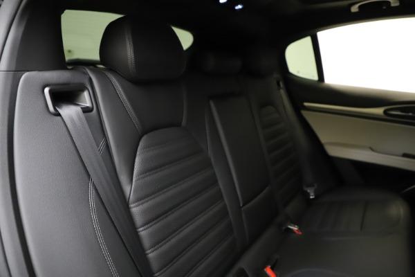 New 2021 Alfa Romeo Stelvio Ti Sport Q4 for sale $54,950 at Maserati of Westport in Westport CT 06880 26