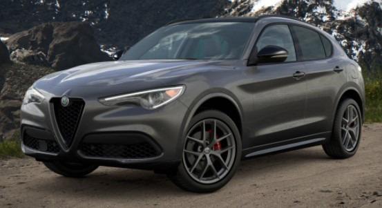 New 2021 Alfa Romeo Stelvio Ti Sport Q4 for sale $56,750 at Maserati of Westport in Westport CT 06880 1