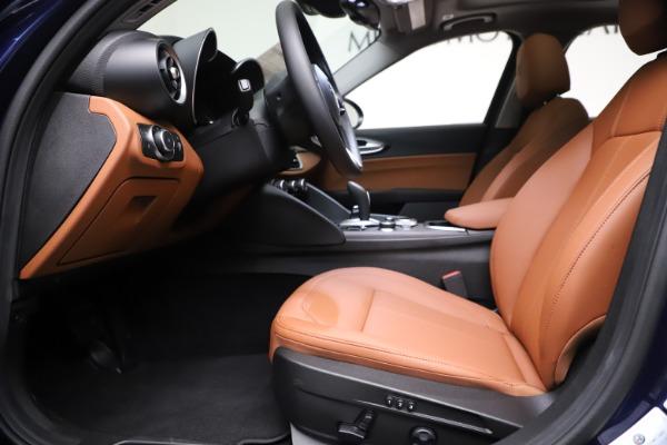 New 2021 Alfa Romeo Giulia Ti Q4 for sale $51,100 at Maserati of Westport in Westport CT 06880 14