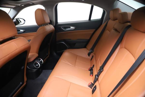 New 2021 Alfa Romeo Giulia Ti Q4 for sale $51,100 at Maserati of Westport in Westport CT 06880 19