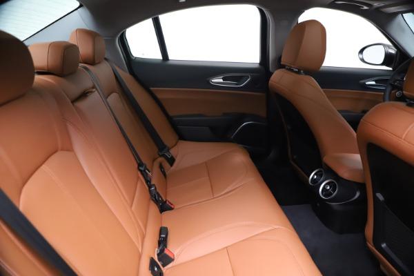 New 2021 Alfa Romeo Giulia Ti Q4 for sale $51,100 at Maserati of Westport in Westport CT 06880 27