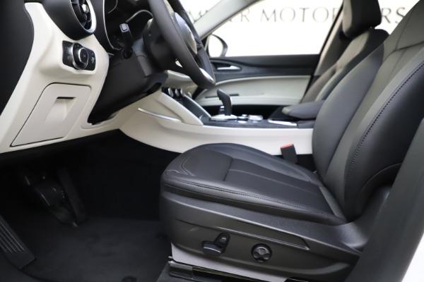 New 2021 Alfa Romeo Stelvio Q4 for sale $47,985 at Maserati of Westport in Westport CT 06880 14