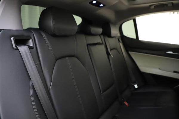 New 2021 Alfa Romeo Stelvio Q4 for sale $47,985 at Maserati of Westport in Westport CT 06880 26