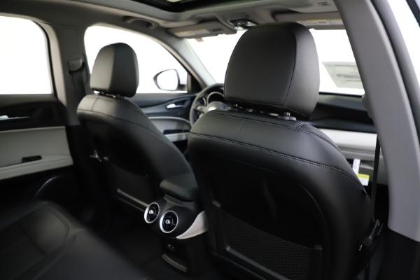 New 2021 Alfa Romeo Stelvio Q4 for sale $47,985 at Maserati of Westport in Westport CT 06880 28