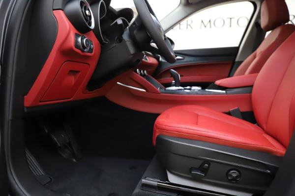 New 2021 Alfa Romeo Stelvio Q4 for sale $48,050 at Maserati of Westport in Westport CT 06880 14